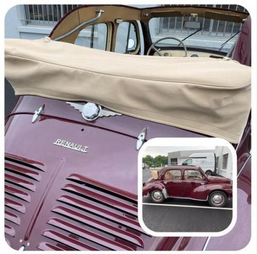 Couvre capote 4 CV - Renault