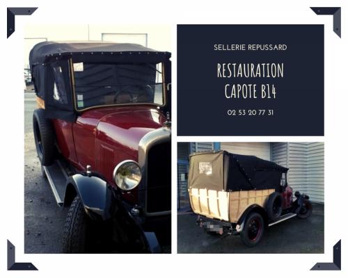 Restauration Capote B14