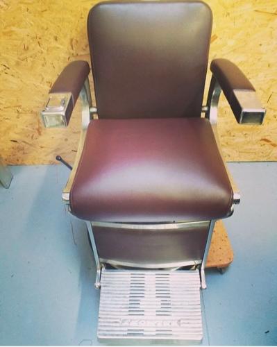 Siège fauteuil barbier